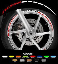 Kit Adesivi Cerchi Moto Ruote SH 300 Bicolore 2 colori