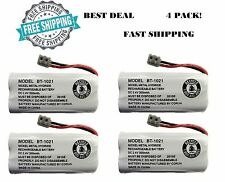 4 Pack Uniden BT-1021 New Genuine Phone Cordless Handset Rechargeable Battery
