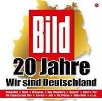 """BILD 20 JAHRE """"WIR SIND DEUTSCHLAND"""" 2 CD MIT NENA UVM"""