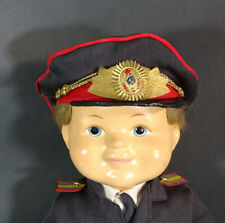 1940's Rare USSR Russian Doll toy Red Army Officer General Military Uniform 16''