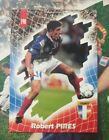 PANINI FOOT CARDS 98 PIRES ROBERT N°198 / COLLECTION FRANCE 98 RARE