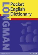 Longman Pocket English Dictionary by Pearson Education Staff (2001, Paperback)