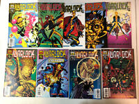 Warlock 1999 #1-9 VF/NM Complete Set character from New Mutants Pascal Ferry art