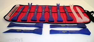 BoJo Platinum 14 pc. Nylon/Plastic Composite Pry and Scraper Tool Set  w /Pouch