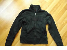 Ladies WomenS  XS  X Small Black Purple Zip Up PUMA Jacket Coat Sweatshirt