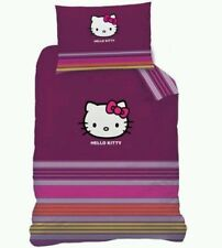 Funda nordica Hello Kitty 140x200 cama 90.Duvet cover.  100% algodon