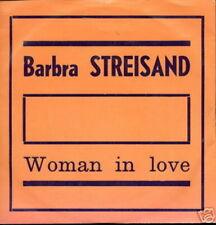 BARBRA STREISAND 45 TOURS BELGIQUE-USA WOMAN (ORANGE)