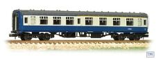 374-258C Graham Farish N Gauge BR Mk1 CK Composite Corridor Blue & Grey
