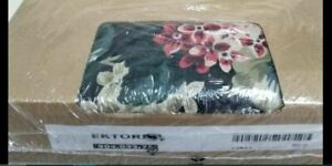 IKEA Ektorp Lingbo 3 Seat NEW Sofa COVER ONLY Green Pink Floral DISC Multi-Color