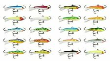 Rapala Jigging Rap W7 Ice Jig 2 3/4 inch - 5/8 oz. UV & Standard Fishing Jigs
