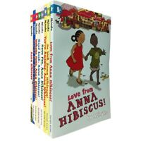Anna Hibiscus Series 8 Books Collection Set by Atinuke Children Books Fiction PB