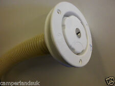 Fiamma water filler inlet with locking cap & 40mm pipe for motorhomes