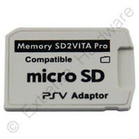 SD2Vita 5.0 Pro Micro SD Memory Card Adapter for PS Vita 3.60 Henkaku - NEW 2018