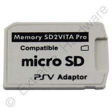 SD 2 Vita 5.0 Pro Adaptador de tarjeta de memoria Micro SD para PS Vita 3.60 henkaku-nuevo 2018