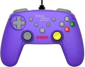 Steelplay - Wired Controller GCube Purple /Switch (New)