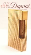 ST DuPont Lighter's Parts Line 2 Gold  Body Only Good Condition A17