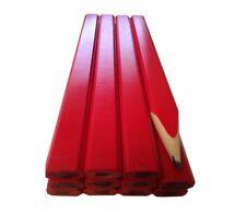 12 x Red Carpenters Pencils Fast delivery Australia Wide