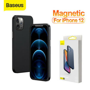 Baseus PU Leather Magnetic Case Protector Shell Cover for iPhone 12 Mini Pro Max