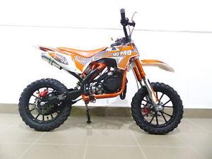 Pocketbike KXD 702 Dirtbike Pocket Cross Bike Kindermotorrad Crossbike Orange