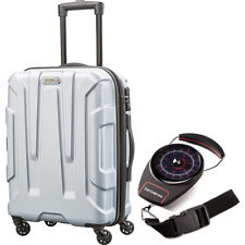 Samsonite Centric Hardside 24 Luggage Silver with Luggage...