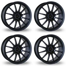 4 x Team Dynamics Matt Black Pro Race 1.2 Alloy Wheels - 4x100 | 15x7 | ET35
