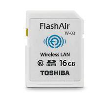 Toshiba 16GB Flashair SD Wifi Card