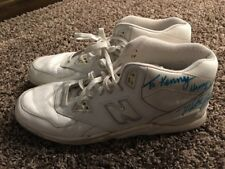 Vtg Game Used Autographed Mike Brown 90s New Balance Basketball Shoes Men's 16