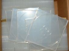 96 New   light clear SINGLE  CD cases LAST CHANCE