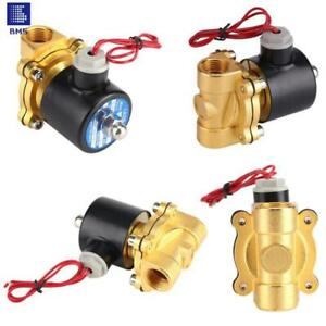Solenoid Valve Electric Valve Brass Normally Closed Air Solenoid DN8 DN15 DN20