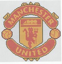 Manchester United Football Counted Cross Stitch Kit