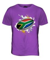 SOUTH AFRICA RUGBY BALL SPLATTER MENS T-SHIRT TEE TOP GIFTWORLD CUP SPORT
