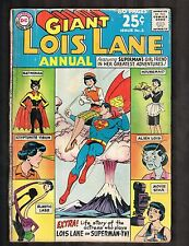 "Lois Lane Giant Annual #2 ~ ""Lois Lane's Kiss of Death!"" ~ 1963 (3.0) WH"