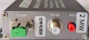 47-862MHZ CATV Fiber Transmitter and Receiver, Support LNB Power Supply, 3280FT
