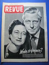 REVUE Nr.2 / 1953 *ZEITSCHRIFT*ELISABETH II*HITLER*OFFENBACH JUNGEN  DREHEN FILM