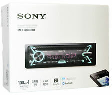 NEW SONY MEX-XB100BT CAR CD MP3 WMA USB NFC BLUETOOTH STEREO IPOD IPHONE CONTROL
