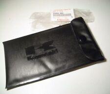 Genuine Kawasaki Black Tool Bag Pouch NOS oem z1 h1 h2 kz1000 kz900 s2 s1 z1r s3