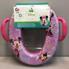 Ginsey Disney 56715 Minnie Mouse Round Soft Child's Toilet Seat