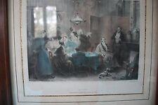 LITHOGRAPHIE MAYER  SIGNEE MADOU LE PORTRAIT XIXème