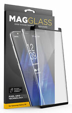 Samsung Galaxy S9 Tempered Glass Screen Protector, MagGLASS Case Friendly Guard