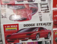1991 LINDBERG Dodge STEALTH R/T Turbo 1/20 Model Car Mountain KIT FS