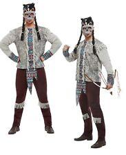 Indianer Dark Spirit Zulu Krieger Herren Kostüm Halloween