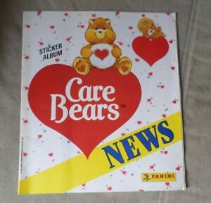 Care Bears 'News' Sticker Album Panini 1987