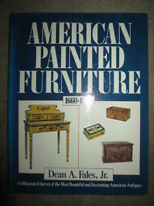 Vtg HC book, American Painted Furniture 1660-1880 by Dean A. Fales Jr., 1986