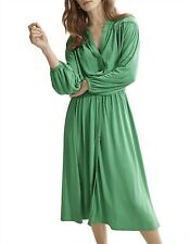 Country Road Fluid Longsleeve Dress Size M, 12 Apple Green  BNWT RRP $159