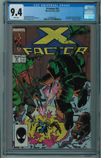 X-FACTOR #21 CGC 9.4 HIGH GRADE WHITE PAGES 1987