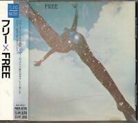 Free / Free Self Titled JAPAN CD with OBI PHCR-18706