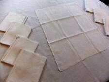 Service de table damassé 8 couverts nappe 1m74 x 1m60 + 8 serviettes