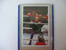 Mike Tyson ROOKIE Card A Question Of Sport Excellent.