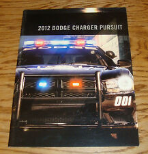 Original 2012 Dodge Charger Pursuit Vehicles Deluxe Sales Brochure 12 Police
