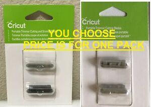 Cricut Tools~You Choose: Portable Trimmer Cutting Blade or Scoring + Cutting Set